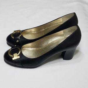 🎀EUC🎀 ANNE KLEIN Black Fielding LE Pump Size 6